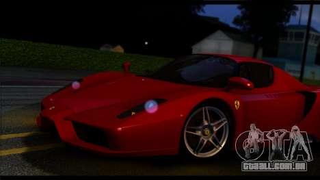 Forza Prata ENB por meio do PC para GTA San Andreas