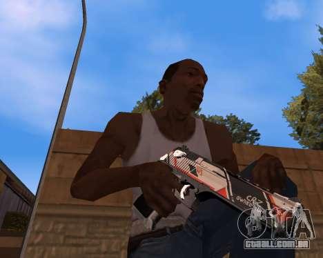 CS:GO Weapon pack Asiimov para GTA San Andreas segunda tela