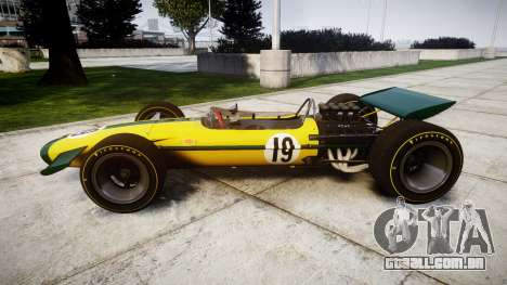 Lotus Type 49 1967 [RIV] PJ19-20 para GTA 4 esquerda vista
