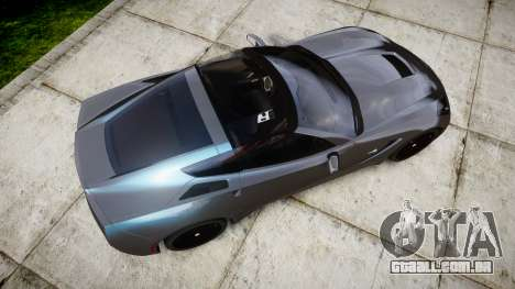 Chevrolet Corvette Stingray C7 2014 para GTA 4 vista direita