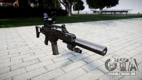 Máquina Heckler & Koch G36 CV para GTA 4
