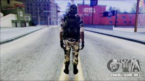 Hecu Soldier 2 from Half-Life 2 para GTA San Andreas segunda tela