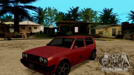 ENB fracas e médias PC SA:MP para GTA San Andreas nono tela