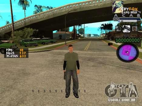 C-HUD. Com. E. para GTA San Andreas