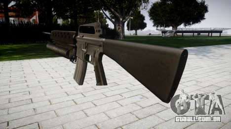Rifle M16A2 M203 sight2 para GTA 4 segundo screenshot