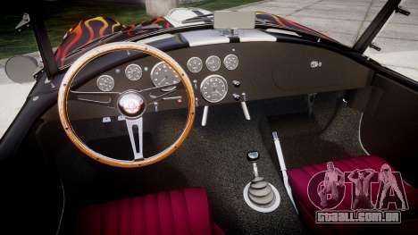 AC Cobra 427 PJ2 para GTA 4 vista interior