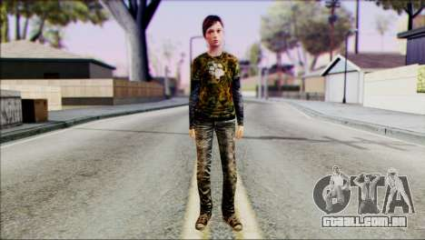 Ellie from The Last Of Us v3 para GTA San Andreas