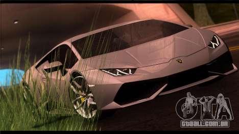Forza Prata ENB por meio do PC para GTA San Andreas terceira tela