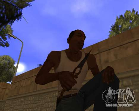 Jaguar Weapon pack para GTA San Andreas sexta tela