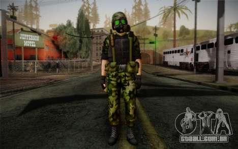 Hecu Soldier 3 from Half-Life 2 para GTA San Andreas