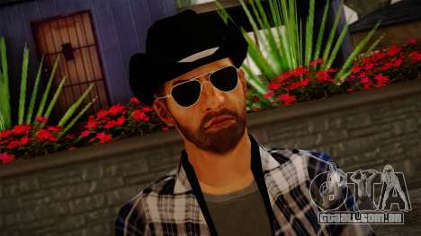 Gedimas Edward Skin HD para GTA San Andreas terceira tela