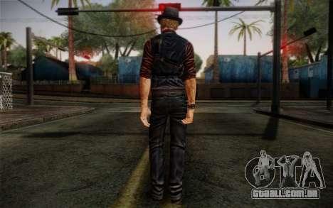 Murdered Soul Suspect Skin 2 para GTA San Andreas segunda tela