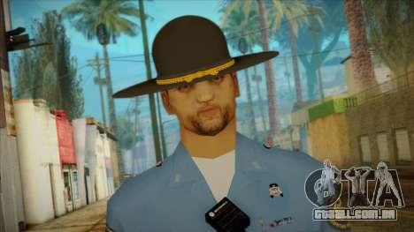 Missouri Highway Patrol Skin 2 para GTA San Andreas terceira tela