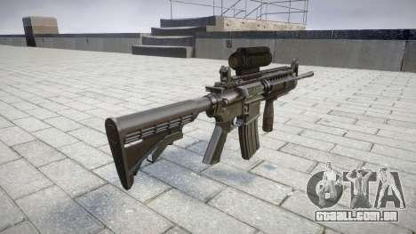 Automático carabina M4 Senhores Tático alvo para GTA 4 segundo screenshot