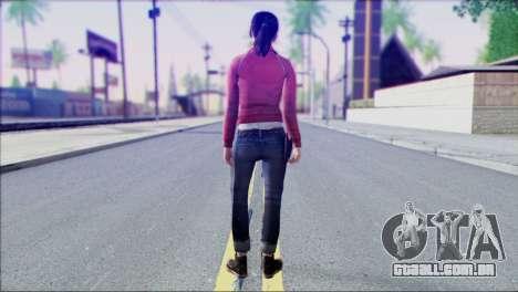 Left 4 Dead Survivor 1 para GTA San Andreas segunda tela
