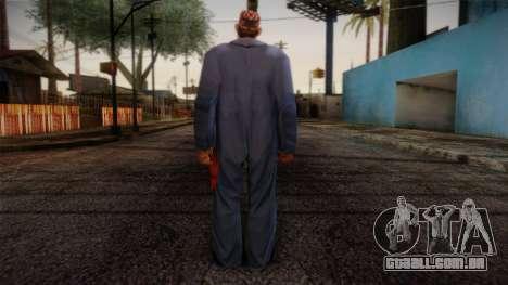 GTA San Andreas Beta Skin 19 para GTA San Andreas segunda tela
