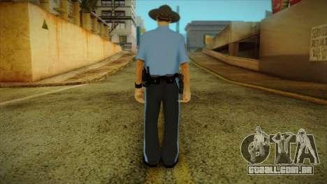 Missouri Highway Patrol Skin 2 para GTA San Andreas segunda tela