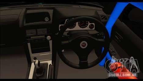 Nissan Skyline GT-R 34 Toyo Tires para GTA San Andreas traseira esquerda vista