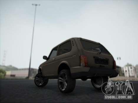 Lada Urdan para GTA San Andreas vista traseira