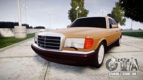 Mercedes-Benz 560SEL W126 para GTA 4