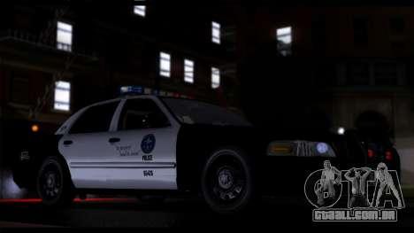 Forza Prata ENB por meio do PC para GTA San Andreas por diante tela