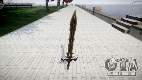 A espada do cavaleiro Negro- para GTA 4