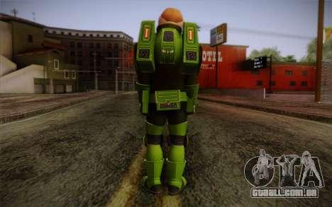 Space Ranger from GTA 5 v2 para GTA San Andreas segunda tela