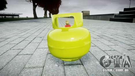 Romã-cilindro de Gás- para GTA 4 segundo screenshot