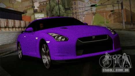 Nissan GTR-R35 para GTA San Andreas