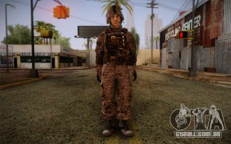 Chaffin from Battlefield 3 para GTA San Andreas