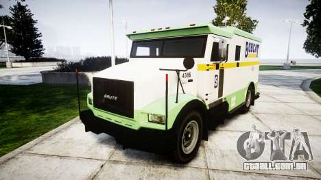 GTA V Brute Securicar para GTA 4