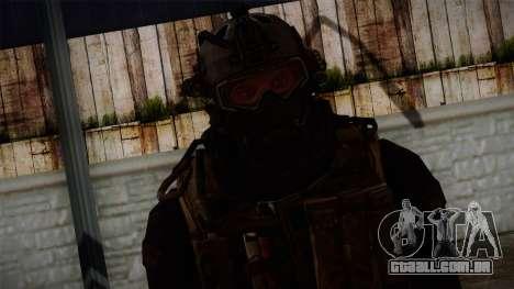 Modern Warfare 2 Skin 2 para GTA San Andreas terceira tela