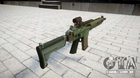Rifle automático de destino Ak5C para GTA 4 segundo screenshot
