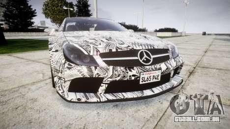 Mersedes-Benz SL65 AMG 2009 Sharpie para GTA 4