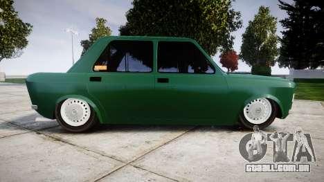 Fiat 128 Berlina para GTA 4 esquerda vista