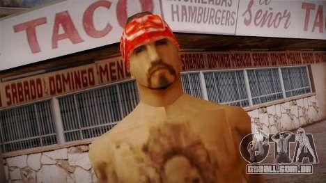 Fresno Buldogs 14 Skin 1 para GTA San Andreas terceira tela