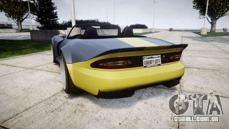 Bravado Banshee ESP para GTA 4 traseira esquerda vista