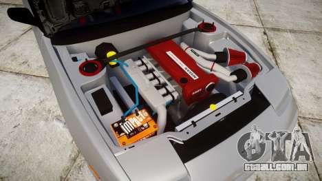 Nissan 240SX SE S13 1993 Sharpie para GTA 4 vista interior