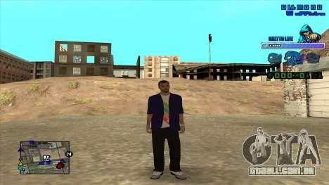 C-HUD Ghetto Life para GTA San Andreas segunda tela