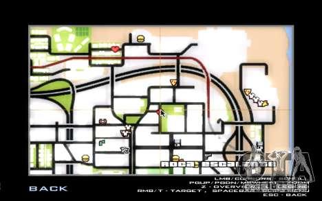 O renascimento da LVPD para GTA San Andreas sétima tela