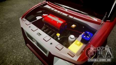Honda Element 2005 para GTA 4 vista interior