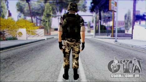 Hecu Soldier 1 from Half-Life 2 para GTA San Andreas segunda tela