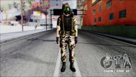 Hecu Soldier 1 from Half-Life 2 para GTA San Andreas