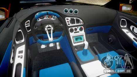 Mitsubishi Eclipse GSX 1995 para GTA 4 vista interior
