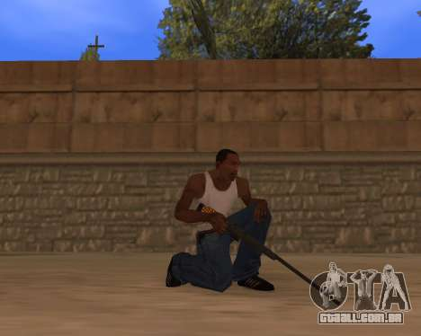 Jaguar Weapon pack para GTA San Andreas terceira tela