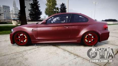 BMW 1M 2011 para GTA 4 esquerda vista