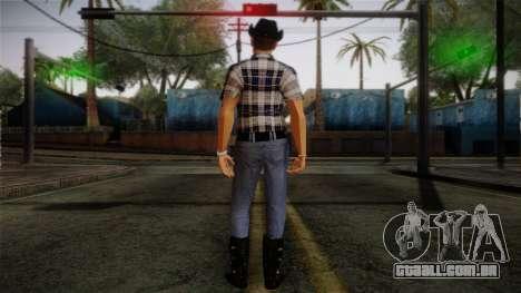 Gedimas Edward Skin HD para GTA San Andreas segunda tela