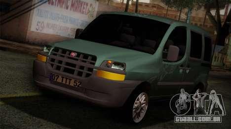 Fiat Doblo 2005 para GTA San Andreas