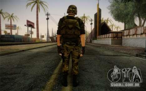 Hecu Soldier 3 from Half-Life 2 para GTA San Andreas segunda tela