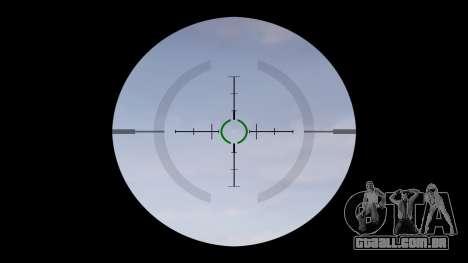 Automático carabina M4 Senhores Tático alvo para GTA 4 terceira tela